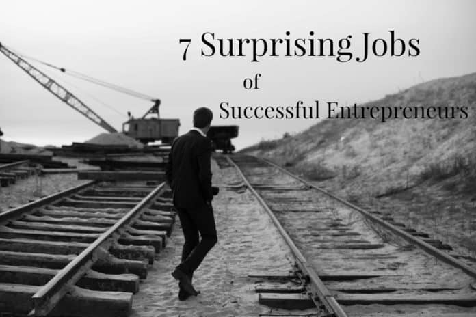 7 Surprising Past Jobs of Successful Entrepreneurs