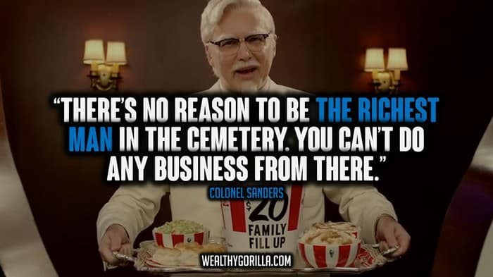 Colonel Sanders Picture Quotes (2)