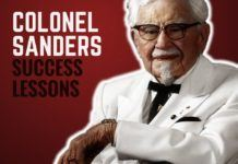 Colonel Sanders Success Lessons