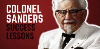 Colonel Sanders Success Lessons
