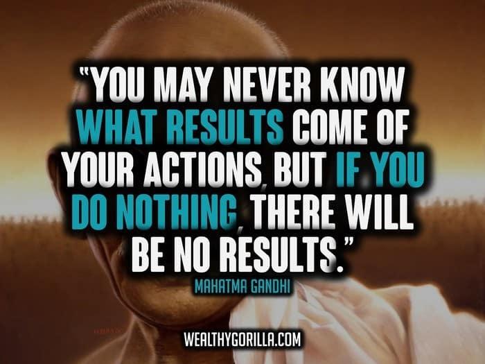 78 Famous Mahatma Gandhi Quotes   Wealthy Gorilla