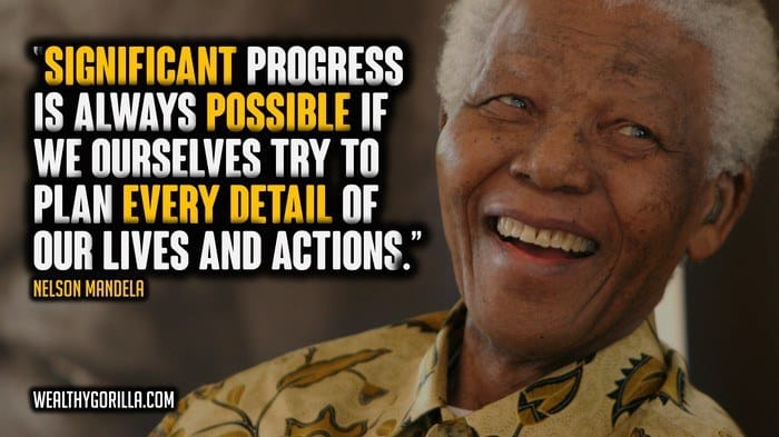77 Greatest Nelson Mandela Quotes Of All Time Wealthy Gorilla