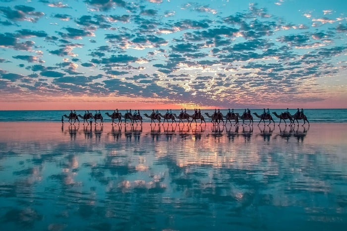 11 Camel Ride on Cable Beach – Broome Western Australia