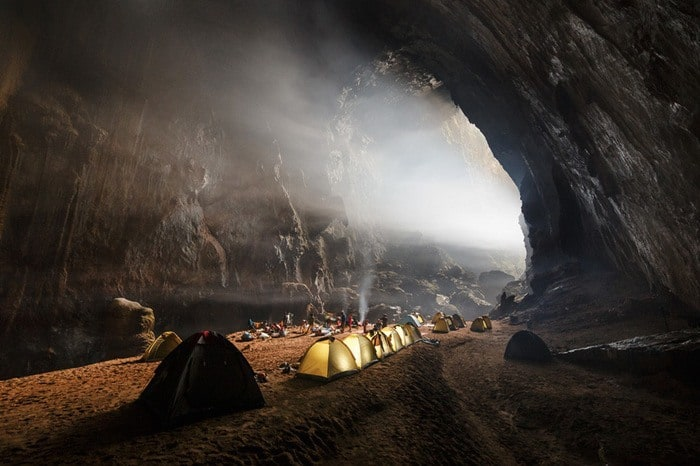 27 Cave Camping – Hang Son Doong Cave Vietnam