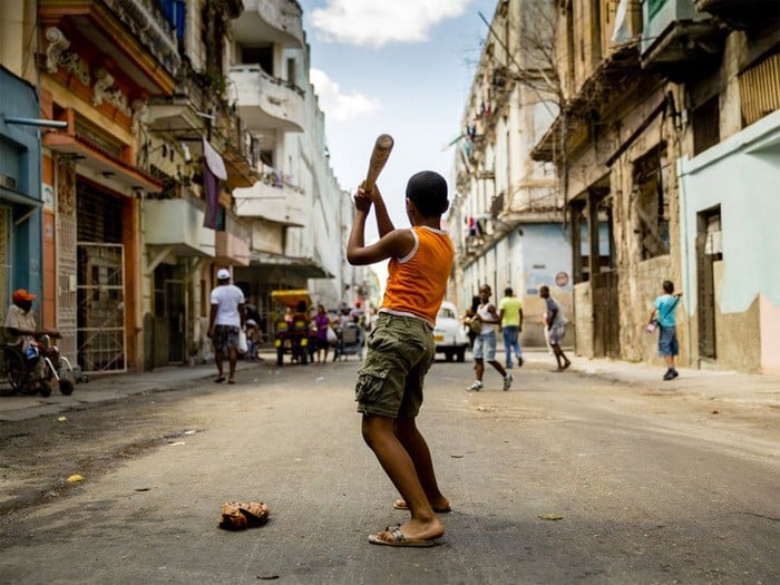 32 Baseball in the Streets – Havana Cuba