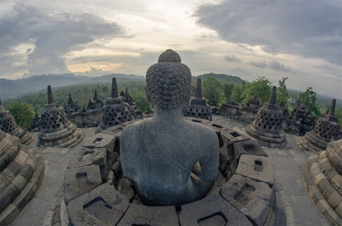 42 Temple of Borobudur Indonesia