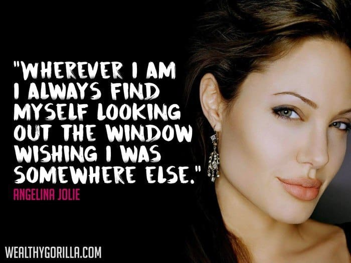 Angelina Jolie Picture Quote (2)