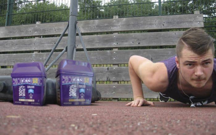 Bodyweight Workouts - EAS Challenge 3