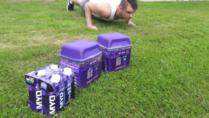 Bodyweight Workouts - EAS Challenge 4