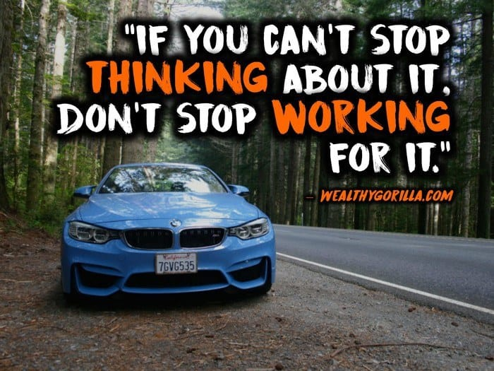 Automotive Quotes Unique 48 Entrepreneur Lifestyle Picture Quotes Wealthy Gorilla