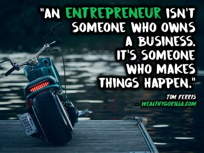 Entrepreneur lifestyle quotes