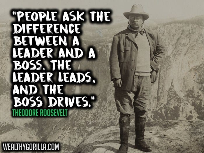 Theodore Roosevelt Quotes Glamorous 37 Theodore Roosevelt Quotes About Greatness  Wealthy Gorilla