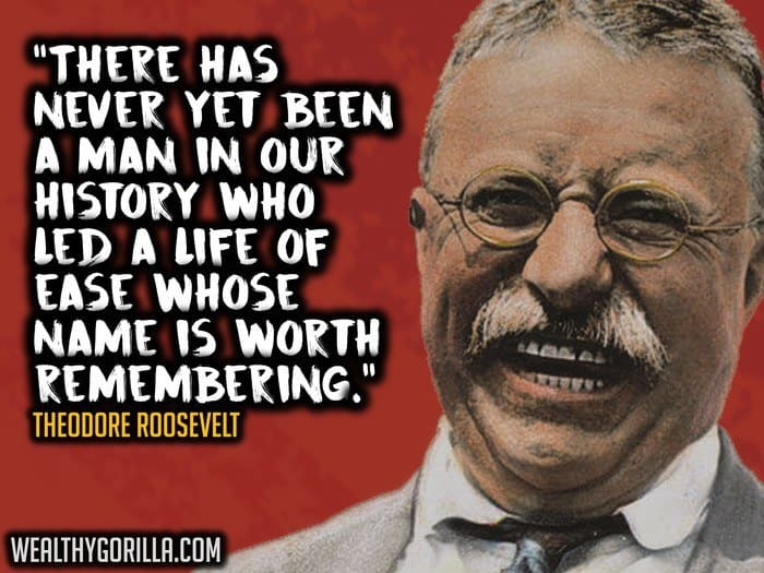 Theodore Roosevelt Quotes Fascinating 37 Theodore Roosevelt Quotes About Greatness  Wealthy Gorilla