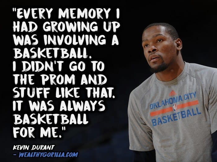 27 Athletic & Inspirational Kevin Durant Quotes