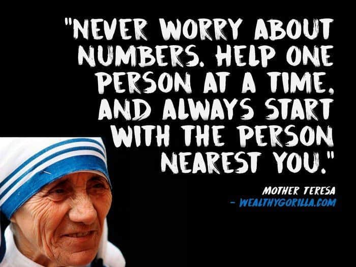 Image result for mother teresa help quote