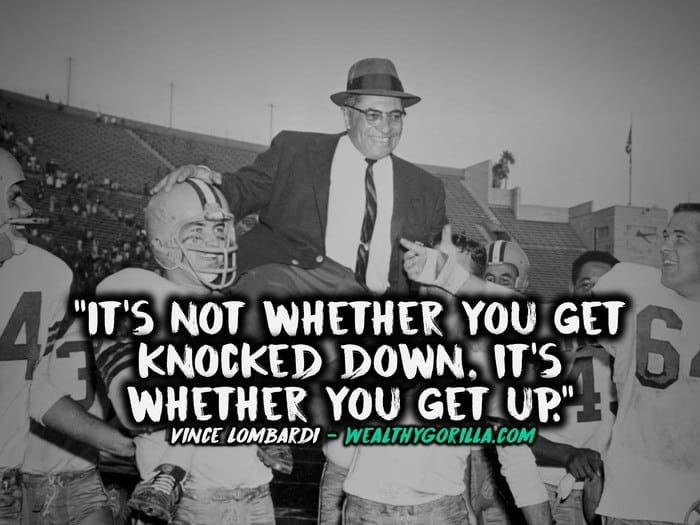 Vince Lombardi Quotes - 1