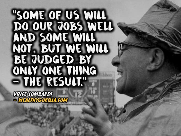 Vince Lombardi Quotes - 2