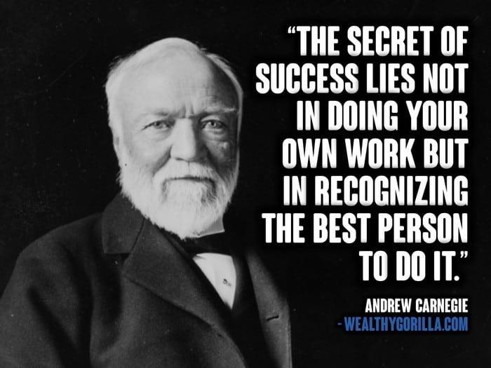 Andrew Carnegie Quotes (2)