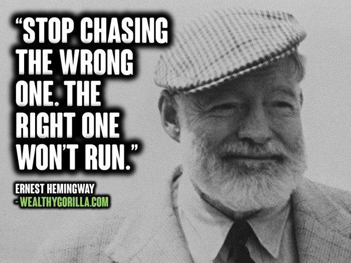47 Wise & Honest Ernest Hemingway Quotes | Wealthy Gorilla