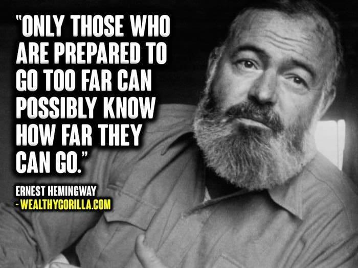 Ernest Hemingway Quotes (2)