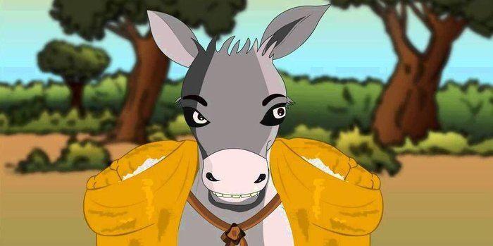 Short Moral Stories - The Foolish Donkey