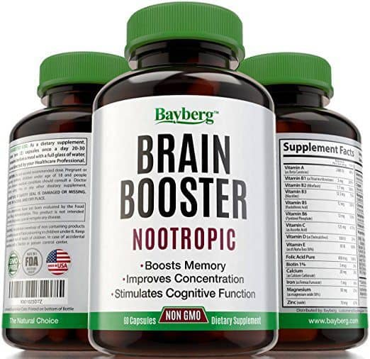 Best Brain Nootropic Supplements - Brain Booster