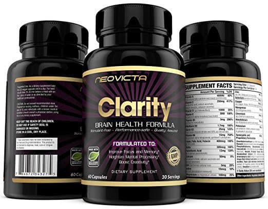 Best Brain Nootropic Supplements - Clarity