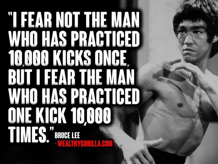 Extrêmement 77 Best Bruce Lee Quotes of All Time | Wealthy Gorilla DO65