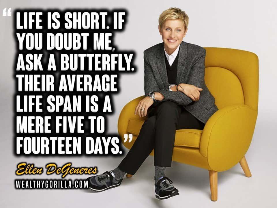 Ellen DeGeneres Quotes (1)