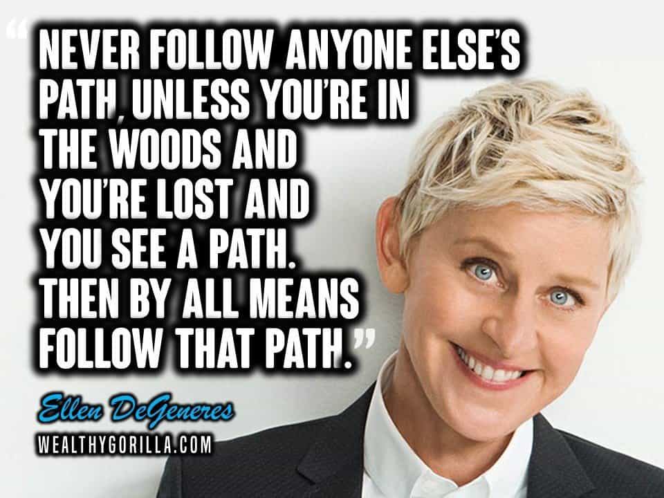 40 Wonderful & Humerous Ellen DeGeneres Quotes (2020 ...