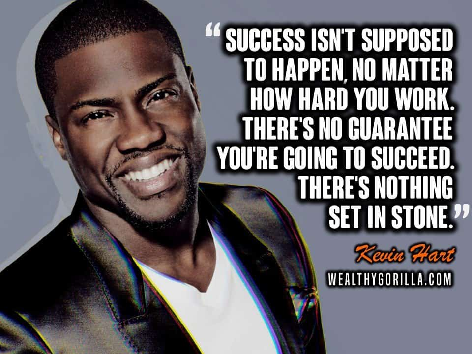 Kevin Hart Stop Telling People Quote -