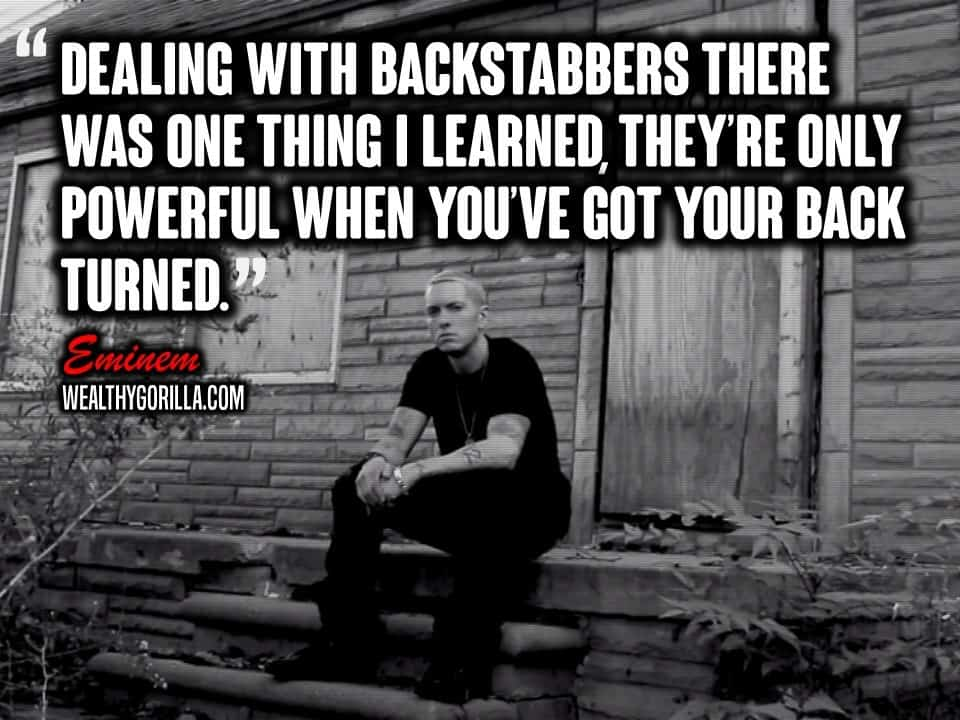83 Greatest Eminem Quotes & Lyrics of All Time (2020 ...
