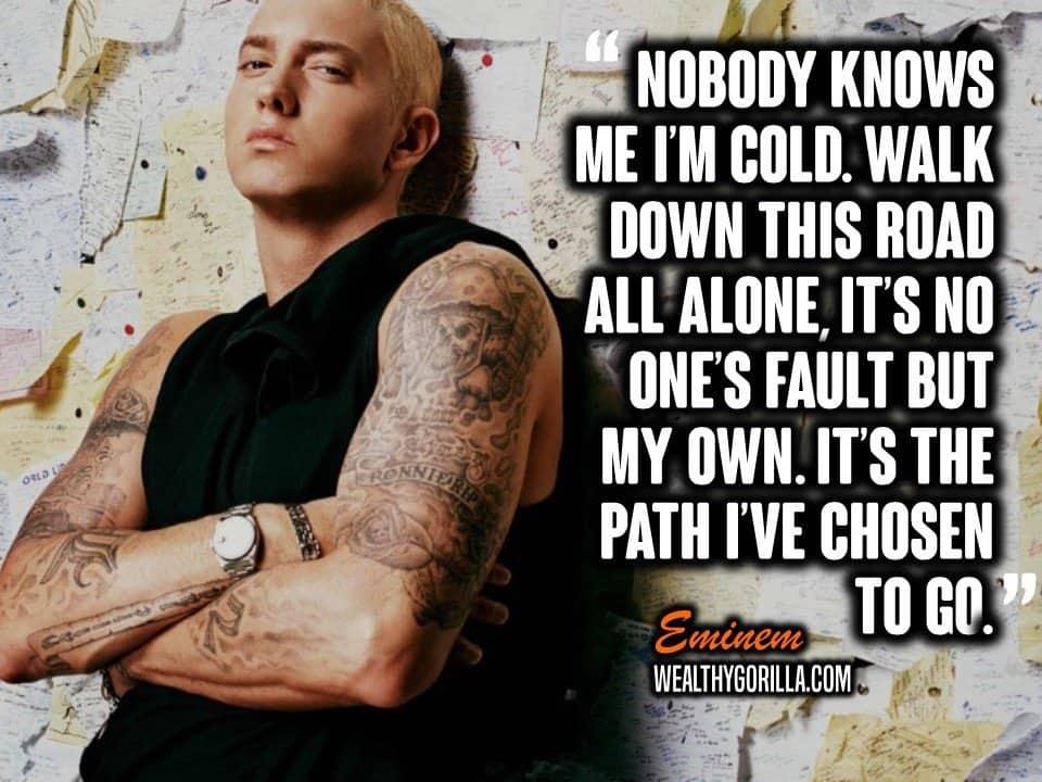 Motivational Eminem Picture Quote (14)