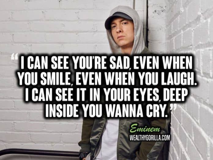 66 Greatest Eminem Quotes & Lyrics Of All Time  Wealthy. Winnie The Pooh Quotes Eating Honey. Famous Quotes About Happiness. Family Quotes From Movies. Sassy Queen Quotes. Love Quotes Bisaya. Cute Quotes Movie. No Country Quotes. Quotes About Love Giving Up