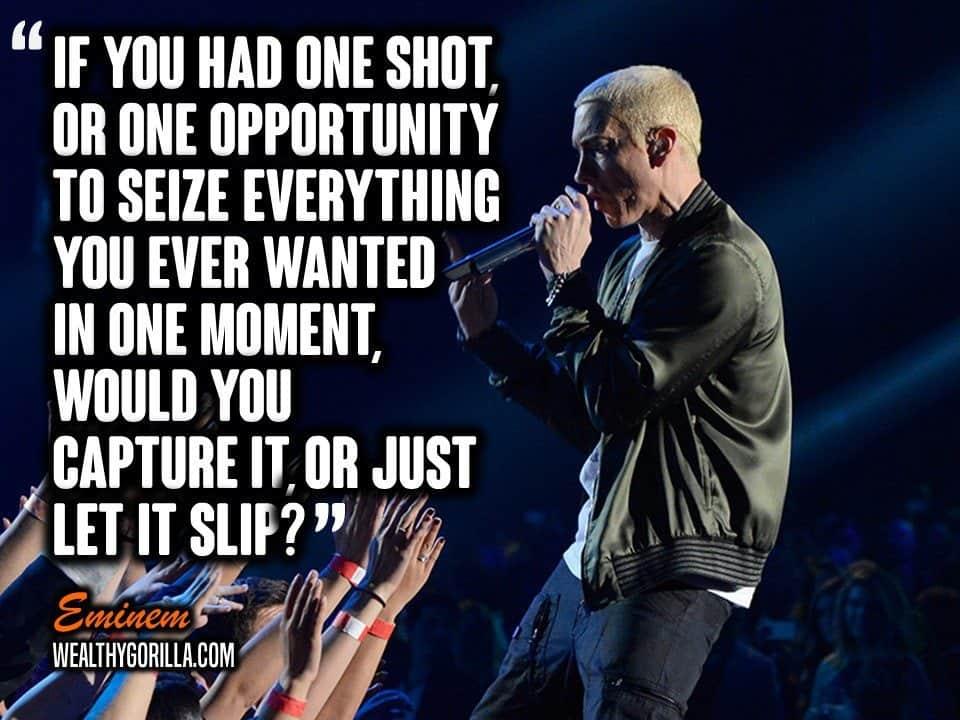 Motivational Eminem Picture Quote (20)