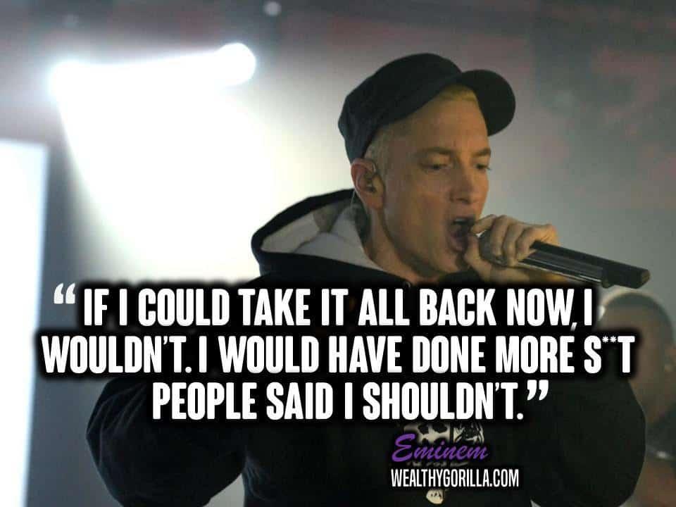 Motivational Eminem Picture Quote (24)