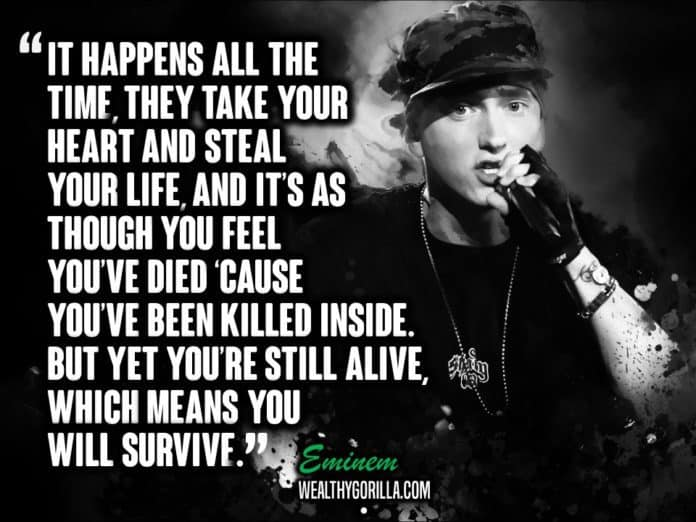 Greatest Eminem Lyrics