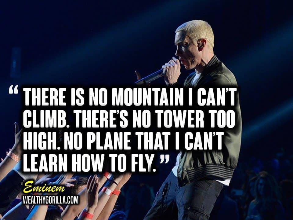 Motivational Eminem Picture Quote (3)