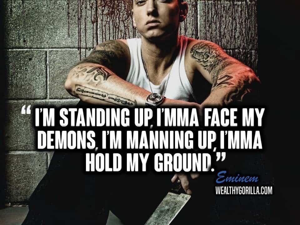 Motivational Eminem Picture Quote (5)