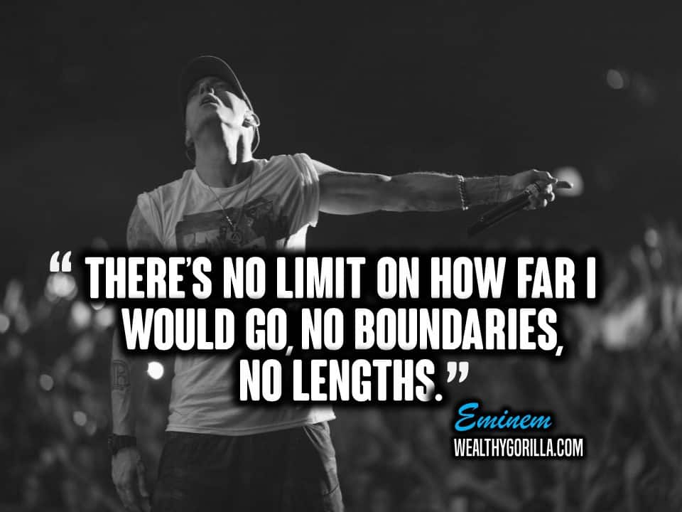 sports shoes 68def 8fccf Motivational Eminem Picture Quote (6)