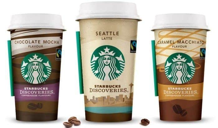 Strongest Coffee Products World - Starbucks Discoveries Caffe Mocha