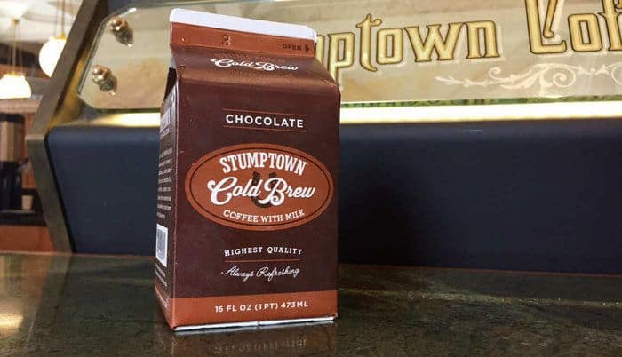 Strongest Coffee Products World - Stumptown Cold Brew Chocolate & Milk