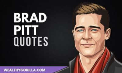 29 Inspirational Brad Pitt Quotes About Life