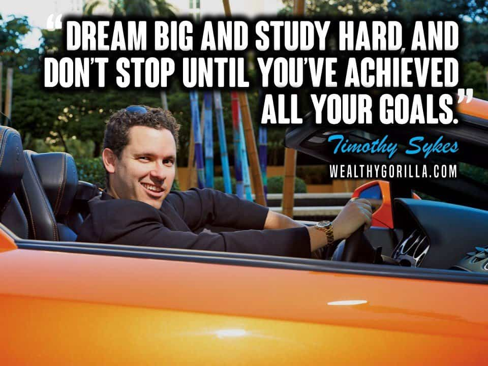 Timothy Sykes Picture Quote