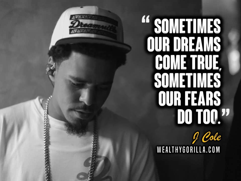 J Cole Quotes Inspirational Lyricart for \