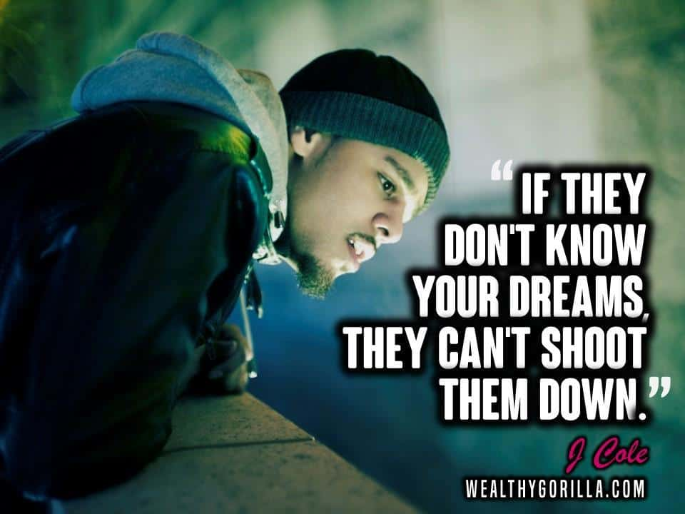 40 Inspirational J Cole Quotes & Lyrics | Wealthy Gorilla