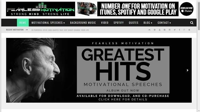 Best Motivational Blogs - Fearless Motivation
