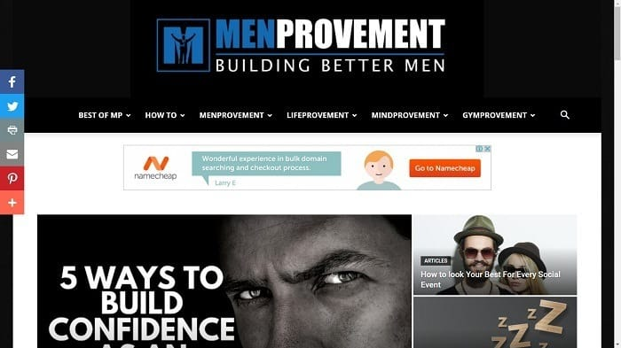 Best Motivational Blogs - MenProvement