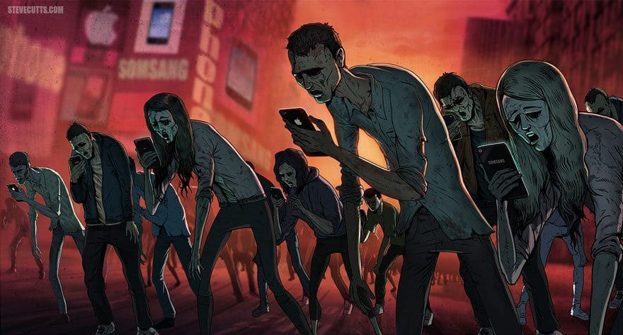 Smartphones are Turning us into Zombies