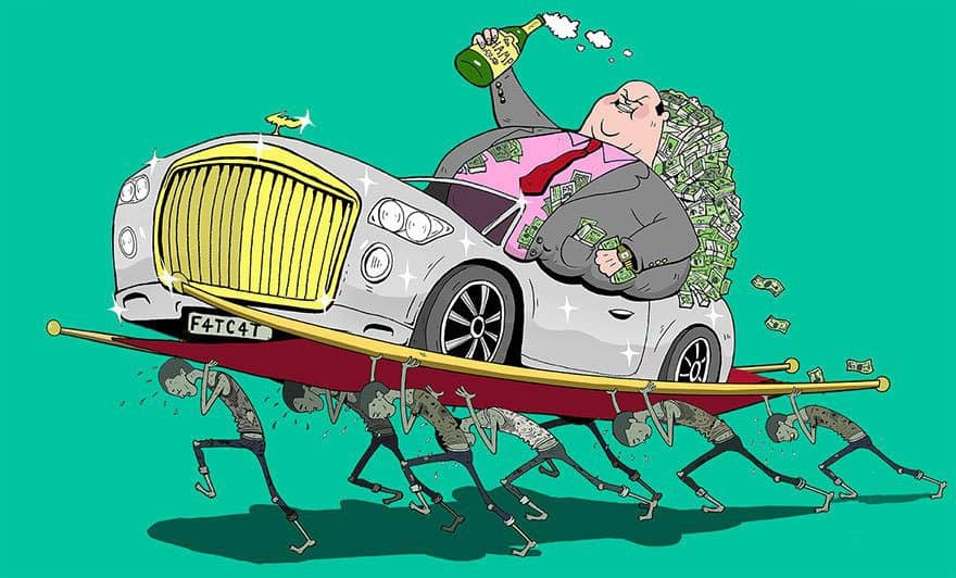 Rich People Thrive at the Expense of the Poor